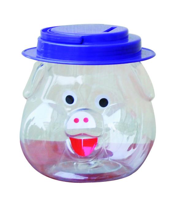 塑料瓶子手工制作猪